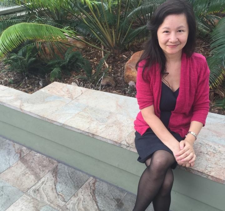 Dr. Qin Li is from Griffith University's Micro- and Nanotechnology Centre. CREDIT Griffith University