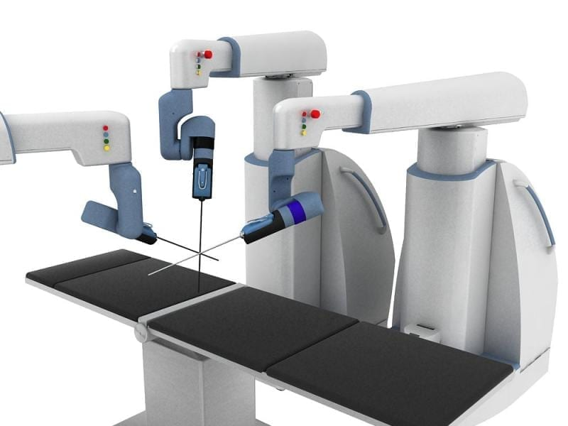 The main features are tactile sensing, versatile & user-friendly robotic arms, comfortable & ergonomic surgeon console, and eye-tracking. © EU, 2015