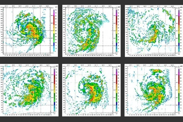 Stills from the Weather Research and Forecasting Model. Image: Wikipedia/Almoz