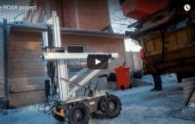 Volvo's robot refuse collectors ROAR into life