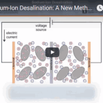 New approach uses sodium-ion battery technology for water desalination
