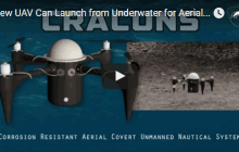 New UAV Can Launch from Underwater for Aerial Missions