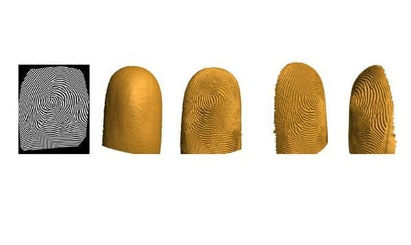 Low-cost, contactless and accurate 3D fingerprint identification system