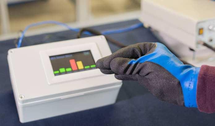 via Fraunhofer ISC Measuring pressure with flexible pressure sensors