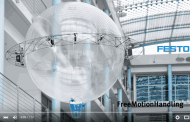 Coolest Flying and Gripping Machine from Festo