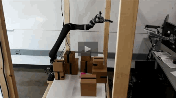 Watch robotic arms motion plan in real-time as Duke robotics engineers explain how their new technology cut planning times by 10,000 while consuming a small fraction of the power compared to current technologies. CREDIT George Konidaris and Daniel Sorin, Duke University