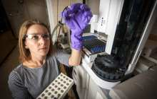 3-D printed polymer turns methane to methanol