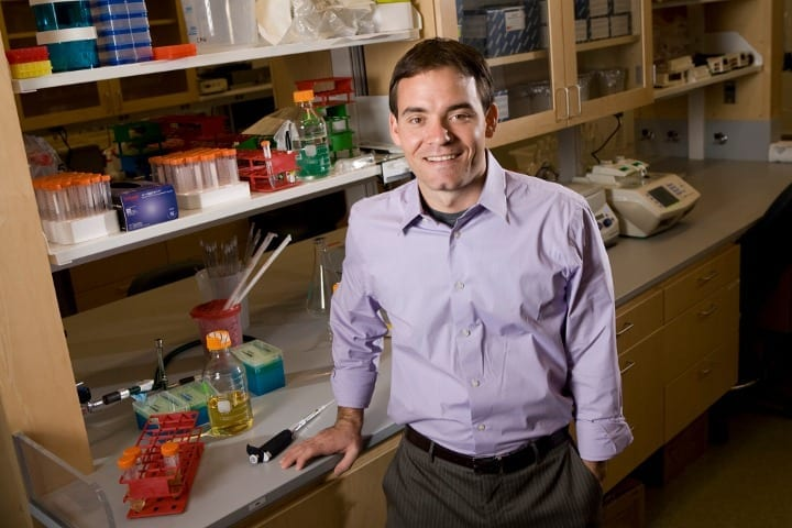 Charles Gersbach, the Rooney Family Associate Professor of Biomedical Engineering and director of the Center for Biomolecular and Tissue Engineering at Duke University