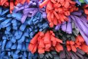 Reducing tire waste by using completely degradable, synthetic rubber