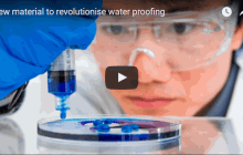 New material to revolutionise water proofing