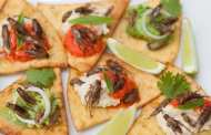 Edible crickets can be reared on weeds and cassava plant tops