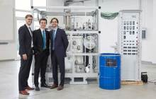 Pilot operation of first compact CO2 to liquid fuels plant that can fit in a shipping container