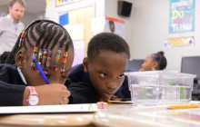 Dealing with the tangible and real can hook kids on science
