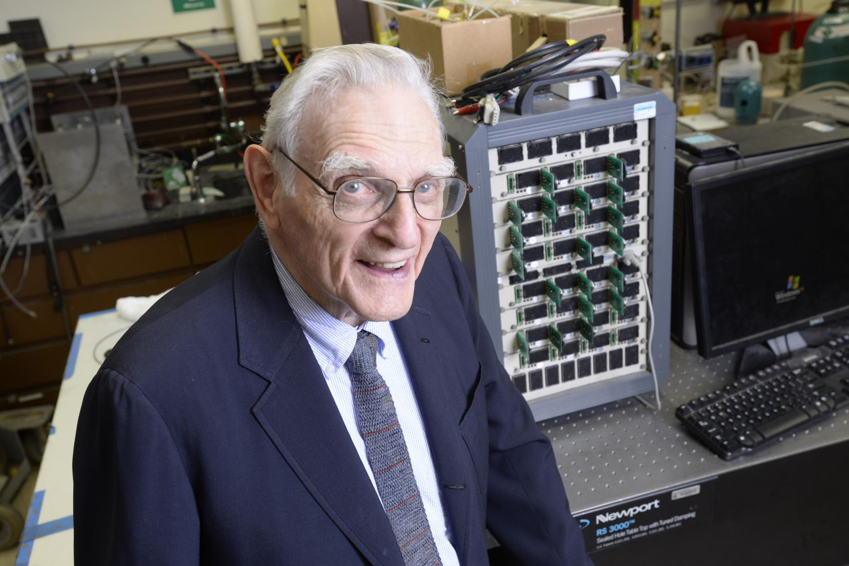First all-solid-state battery cells invented by the father of the lithium-ion battery