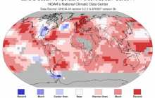 It could be that the current period of climate change is unparalleled over the last 100 million years