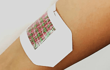 A smartphone controlled smart bandage delivers precise medication