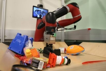 A robotic learning technology that enables robots to imagine