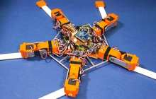 A robot capable of immediately adapting to unexpected physical damage