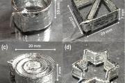 Liquid metal printing has taken a key step toward the rapid manufacture of flexible computer screens and other stretchable electronic devices