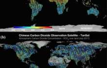 First map of global CO2