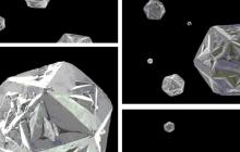 Broken nanodiamonds get close to being a forever superlubricant