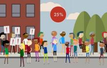 Roughly 25% of people need to take a stand before large-scale social change occurs