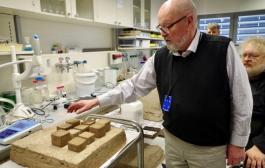3D printing a house for 1/10th the cost in less than 1 day using peat material