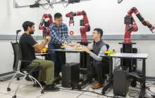 Now people worldwide will be able to interact with a robot to speed the process of teaching robots how to do basic tasks