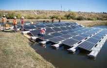 Floating solar photovoltaics could generate about 10 percent of U. S. annual electricity production