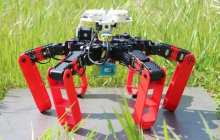Antbot is the first walking robot that moves without GPS.