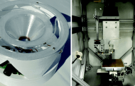 Threading electronic fibers onto fabrics with 3D printing