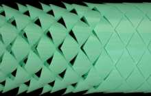 A new and improved snake-inspired soft robot uses programmable kirigami metamaterials