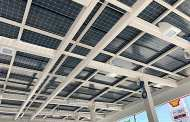 Using the dark underside of a solar panel could also convert sunlight to electricity
