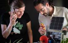 The world's first solar-powered remote survey device relays environmental data and does real-time surveying