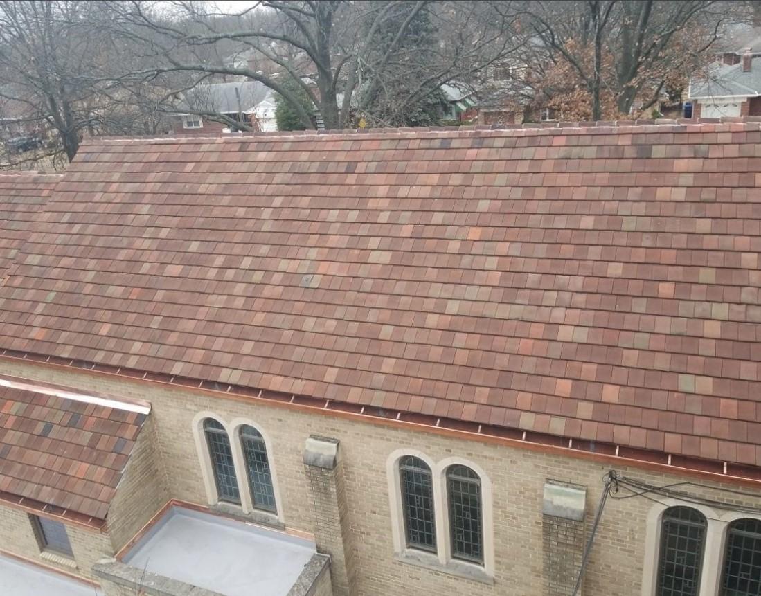 historical tile roof restoration