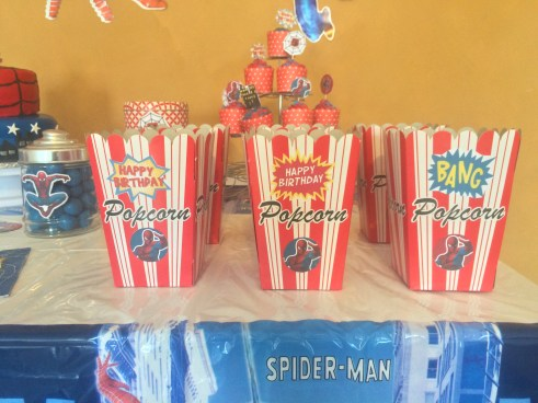 Themed Popcorn Boxes