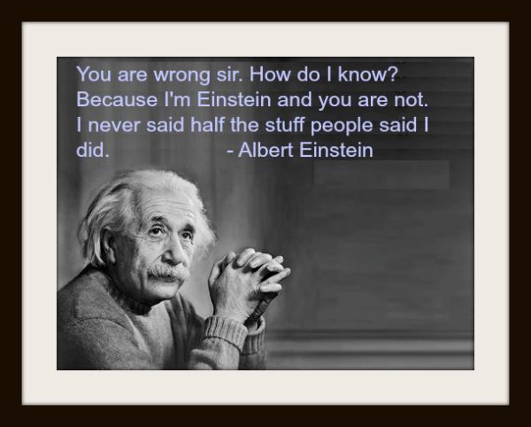Albert Einstein Compound interest