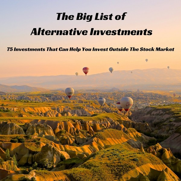 list of alternative investments