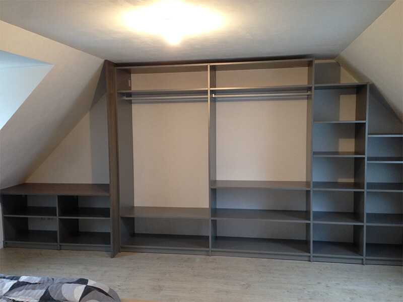 Sous Pente Laterale Porte Coulissante 447 Innov Home