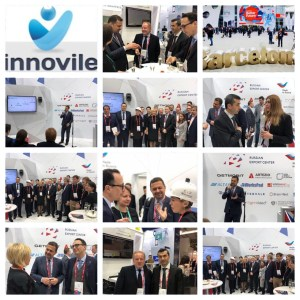 A grid of photos taken at MWC18 Barcelona
