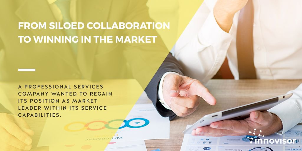 Case - From siloed collaboration to winning in the market