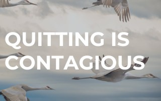 Quitting is contagious, featured image