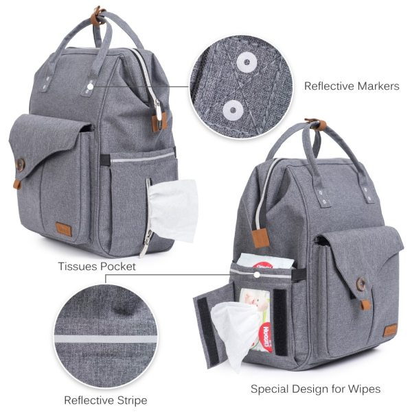 Alameda Fashion Mummy Maternity Bag Multi function Diaper Bag Backpack Nappy Baby Bag with Stroller Straps 2 Alameda Fashion Mummy Maternity Bag Multi-function Diaper Bag Backpack Nappy Baby Bag with Stroller Straps for Baby Care