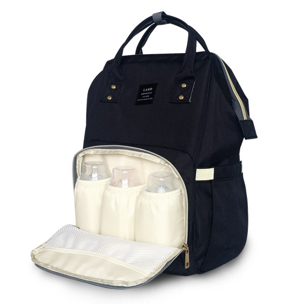 LAND New Baby Diaper Bag Fashion Mummy Maternity Nappy Bag Large Capacity Baby Bag Travel Backpack LAND New Baby Diaper Bag Fashion Mummy Maternity Nappy Bag Large Capacity Baby Bag Travel Backpack Designer Nursing Bag