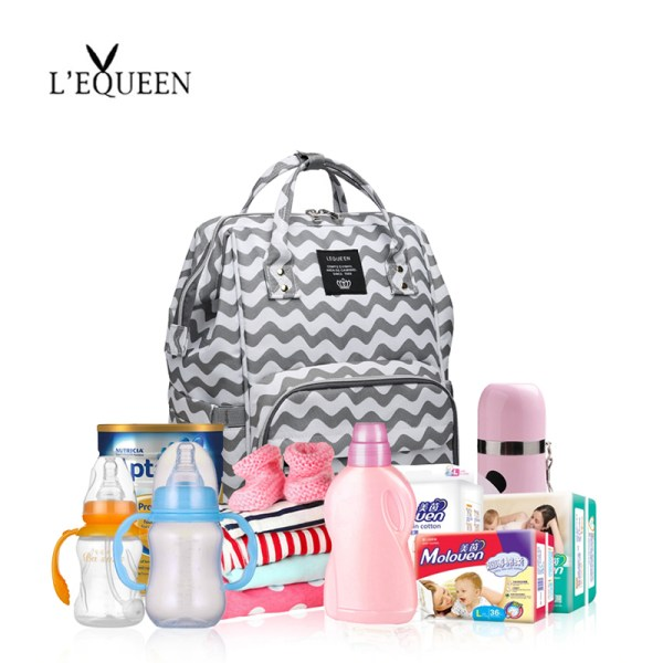 Lequeen Mommy Diaper Bag Baby Mummy Carriage Backpack Mother Changing Bag Maternity Bag Care Stroller Large 2 Lequeen Mommy Diaper Bag Baby Mummy Carriage Backpack Mother Changing Bag Maternity Bag Care Stroller Large Capacity Nappy Bag