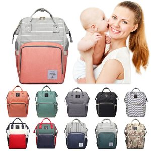 Lequeen Mommy Diaper Bag Baby Mummy Carriage Backpack Mother Changing Bag Maternity Bag Care Stroller Large Innrech Market.com