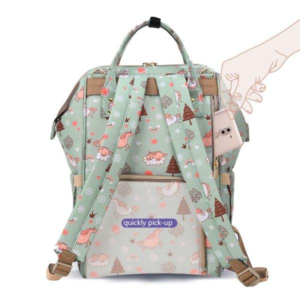 SUNVENO Mommy Diaper Bag Large Capacity Baby Nappy Bag Designer Nursing Bag Fashion Travel Backpack Baby 2 SUNVENO Mommy Diaper Bag Large Capacity Baby Nappy Bag Designer Nursing Bag Fashion Travel Backpack Baby Care Bag for Mother Kid