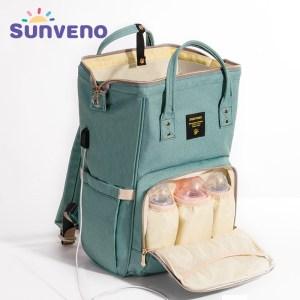 SUNVENO Mommy Diaper Bag Large Capacity Baby Nappy Bag Designer Nursing Bag Fashion Travel Backpack Baby Innrech Market.com