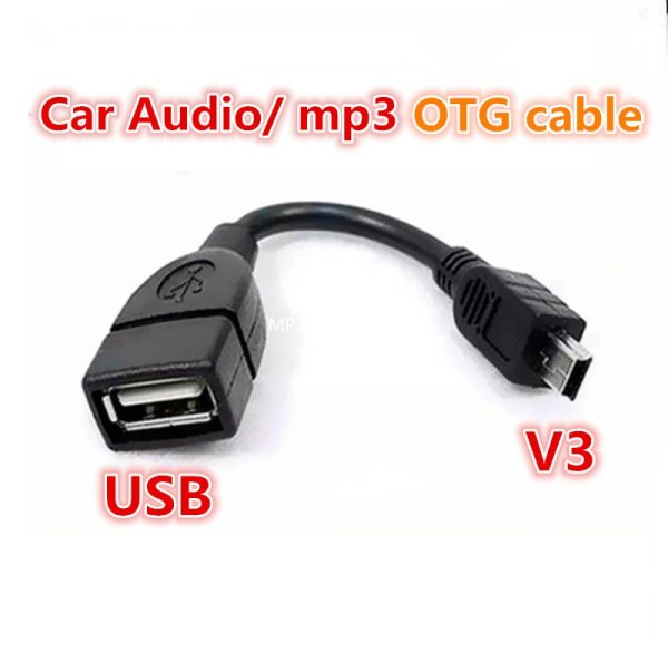 Test before send USB A Female to Mini USB B Male Cable Adapter 5P OTG V3 Test before send USB A Female to Mini USB B Male Cable Adapter 5P OTG V3 Port Data Cable For Car Audio Tablet For MP3 MP4
