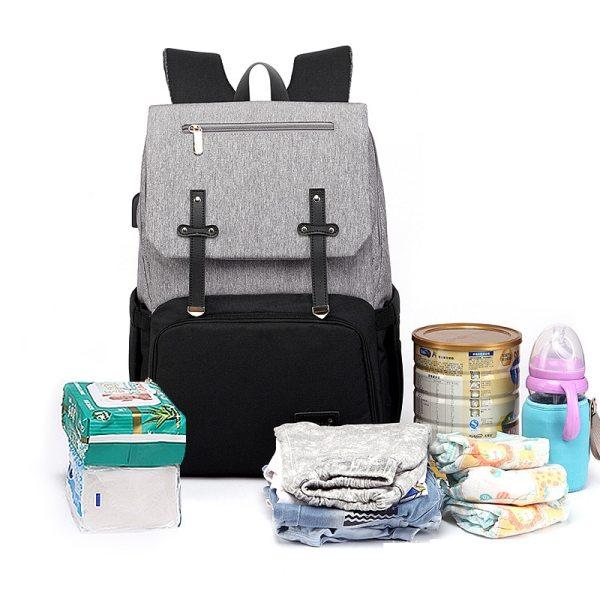 USB Waterproof Stroller Diaper backpack for mom Maternity Nappy Women Travel Infant Multifunction Baby Bag Insulation 5 USB Waterproof Stroller Diaper backpack for mom Maternity Nappy Women Travel Infant Multifunction Baby Bag Insulation Nursing
